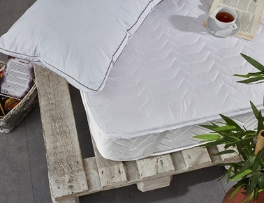 Komfort Home Çift Kişilik Yatak Koruyucu Alez 180x200 Cm (DTX) Renkli